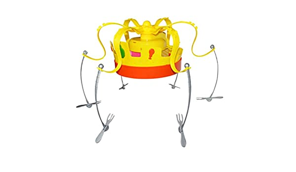 MAICOLA Novela Crown Food Juego Sombrero giratoria Corona Snacks ...
