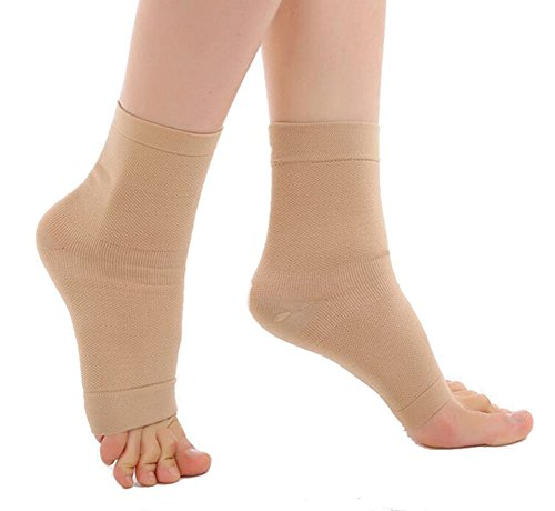 Ewandastore Foot Sleeves Ankle Support,Heel Pain,Best Plantar Fasciitis Sock Compression Socks for Men Women Arch Support Pain Relief Sleeve