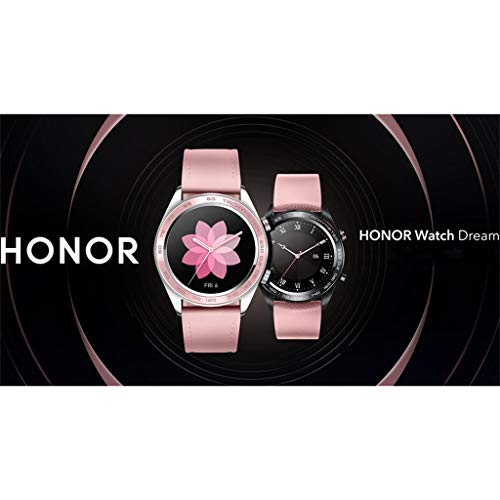 AutumnFall Ladies Cherry Series Huawei Honor Watch Dream Smart Watch Sport Sleep Run Cycling Swimming (Pink) by AutumnFall_1214 (Image #7)