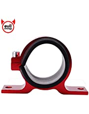 EVIL ENERGY Fuel Pump Filter Mounting Brackets Clamp Aluminum with Rubber Insert