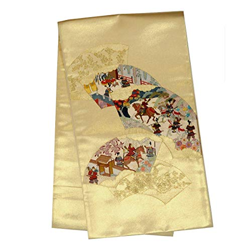 和道楽着物屋 正絹 仕立て上がり 袋帯 【らんしん刺繍】【お仕立て済み】<br>番号d604-1 着物 レディース 和装