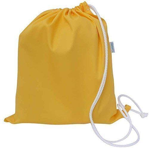 Yellow Cotton Canvas Drawstring PE Bag kids Boys Girls  Amazon.co.uk ... eb947867caced