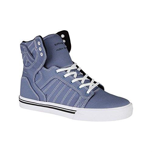 Supra - Zapatillas para niño, color azul, talla 2 UK: Amazon.es: Zapatos y complementos