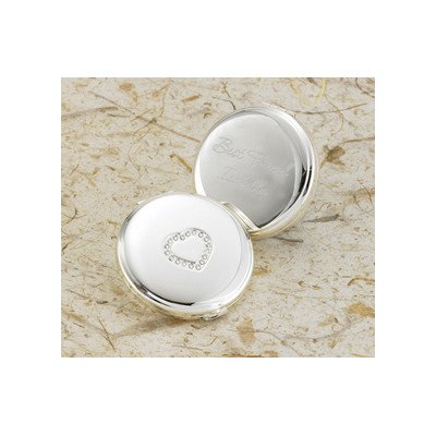 Personalized Gift Sweetheart Compact Mirror