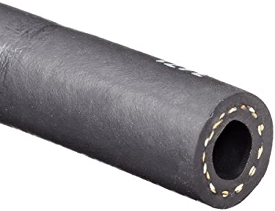 "Continental ContiTech Frontier EPDM Rubber Hose, Black, 200 PSI Maximum Working Pressure, 3/8"" ID x 0.67"" OD, 500' Continuous Length"