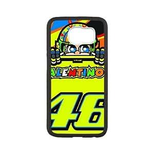 Samsung Galaxy S6 Phone Cases White Valentino Rossi BNM391562