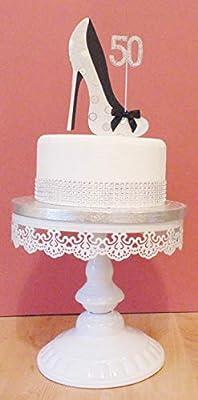Decoración para tarta de cumpleaños de 21 años. 21 calzado ...