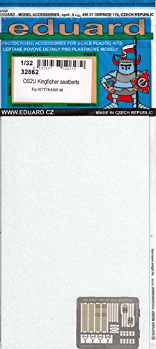 Eduard Photoetch 1:32 - OS2U Kingfisher seatbelts -  / EDU32