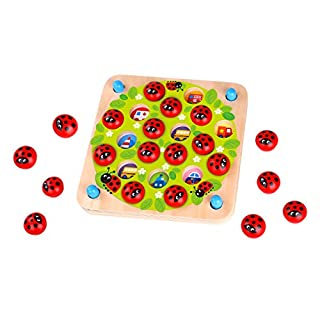 Fat Brain Toys Ladybug's Garden Memory Game Games for Ages 3 to 4