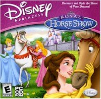 New Disney Princess Royal Horse Show Kids Adventure Mystery Windows 98 Me Xp Vista 8X Cd-Rom Drive (Royal Princess Horse)