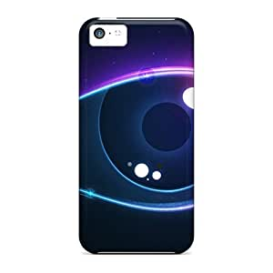 taoyix diy Hot Tpu Cover Case For Iphone/ 5c Case Cover Skin - Colorful Eye