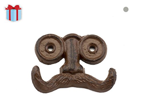 """Mustache Wall Hook 
