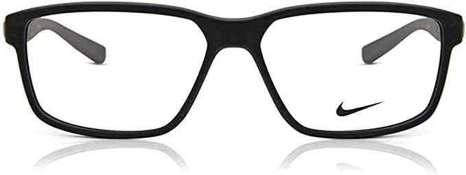 tobillo Una oración Maestro  Amazon.com: Eyeglasses NIKE 7092 011 Matte Black: Clothing