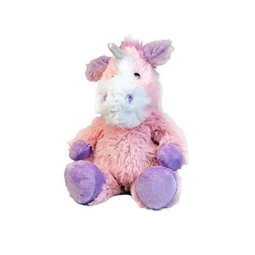 (Intelex Warmies Microwavable French Lavender Scented Plush Jr Unicorn)