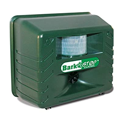 Bark Stop Classic, Bark Free Dog Silencer & Animal Pest Repeller, Ultrasonic Bark Deterrent - Yard Sentinel Dual