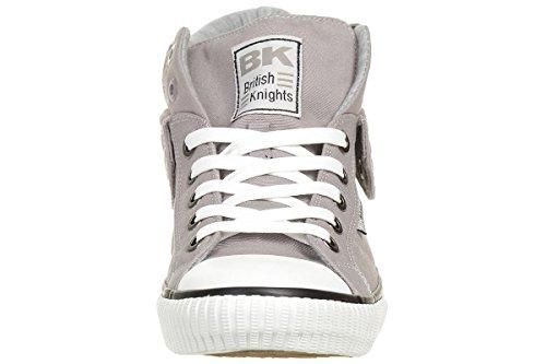 Brittiska Riddare Roco Bk Män Tränare Sneaker B37-3702-12 Grå Grå