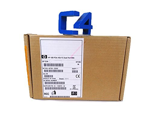 HP AP768A 4GB 2-Port Fibre Channel HBA (Certified Refurbished)