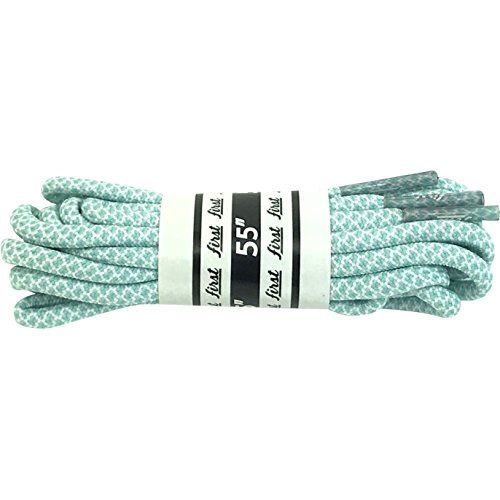 "FIRST Rope Round Shoe Laces (42""/ 4-6 Eyelets, Tiffany Mint Blue) from FIRST Clothing"