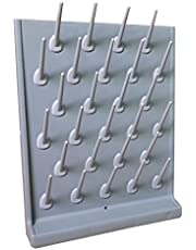 Drying Rack Lab Supply Rotating Telescopic Laundry Rack 27 Pegs (Item#211045)