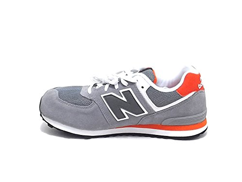 New Balance , Jungen Sneaker Mehrfarbig grigio arancio