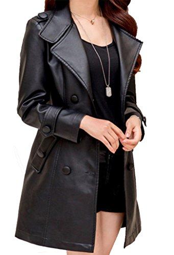 helan-womens-long-slim-style-pu-leather-coat-with-belt-inside-fur-black-us-14