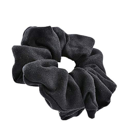 Women Elastic Hair Rope Ring Tie Scrunchie Ponytail Holder Hair Band Gifts Multi (Color - 11) ()