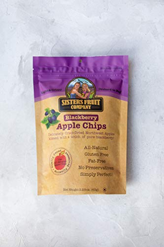- Sisters Fruit Company Blackberry Apple Chips (Case of 6)