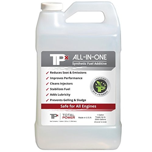 TPx All-In-One - Fuel Additive for All Fuels - Biodegradable - Reduce Emissions - 1 Gallon Bottle by Total Power