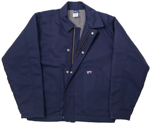 LAPCO JTFRNYDK-6XL RG 12-Ounce Flame Resistant Duck Insulated Jacket, Navy