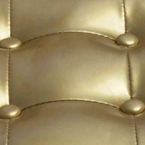 Amazon.com: Sillón de piel sintética con marco de madera de ...
