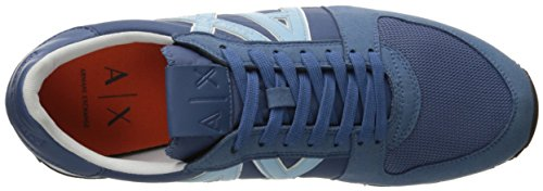 Armani Sneaker Running A X Exchange Blue Fashion Sneaker Horizon Men Retro 58xqAXpw