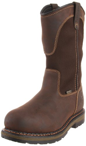 Irish Setter Men's Wellington Aluminum Toe Work Boot brown size (Waterproof Wellington Pull)