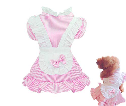 Puppy Face Dog Tutu Dress Girl Puppy Clothes for Small Medium Dog Outfit Cat Apparel Pet Dresses for Dogs