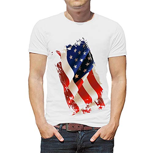 IsaMaNNeR Men T Shirts Men's Tee Shirt Funny Graphic Short-Sleeve Fashion - Tee Hole Black
