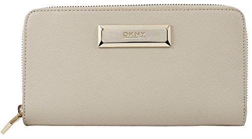 DKNY Donna Karan Saffiano Leather Zip Around …