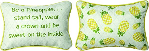 Be a Pineapple, Wear a Crown Funny 12 x 8 Inch Decorative ()