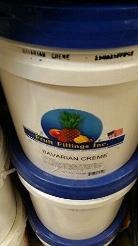 Fruit Fillings Inc Bavarian Creme Filling 40 Lb