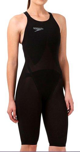 te 2 Comfort Strap Kneeskin, Black, 23 (Speedo Lzr Racer Swimsuit)