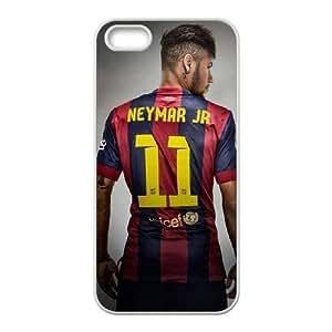 iPhone 55S teléfono celular caso blanco Neymar pjob