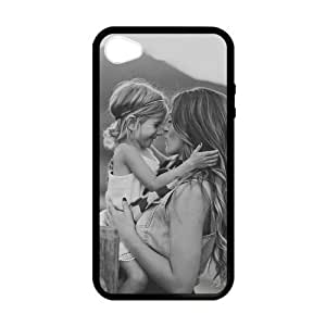 iPhone 4 Case, [Family Baby] iPhone 4,4s Case Custom Durable Case Cover for iPhone4s TPU case (Laser Technology)