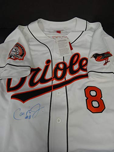 5f0f4c6f8 Image Unavailable. Image not available for. Color: Autographed Cal Ripken  Jr. Signed 2001 Mitchell & Ness ...