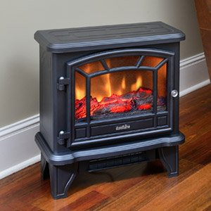 duraflame-550-black-infrared-freestanding-electric-fireplace-stove-with-remote-control-dfi-550-22
