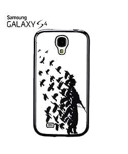 Lmf DIY phone caseBanksy Soldier Peace Pigeons War Mobile Cell Phone Case Samsung Galaxy S4 WhiteLmf DIY phone case