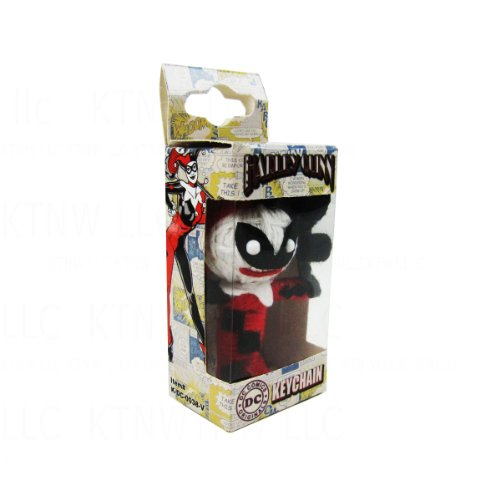 Officially Licensed DC Comics String Doll Keychain - Harley Quinn