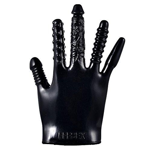 Sex Massage Gloves (Black)