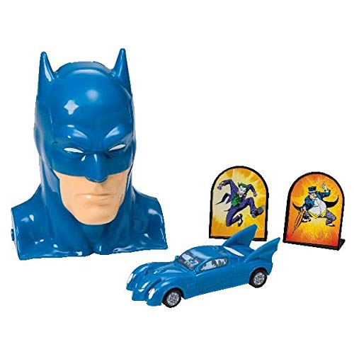 Batman To the Rescue Cake Topper Decorating Set]()