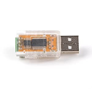 RS485 to USB Converter Adapter with FTDI Chip for Smart Meter (Transparent Shell) (Color: Transparent Shell)
