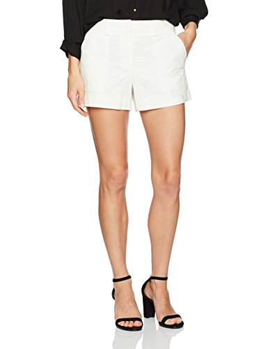 Trina Turk Women's Taj Camoflauge Short, White Wash, 4 by Trina Turk