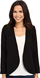 NYDJ Women\'s Career Cascade Jacket Black Jacket 4