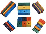 Super Bird Creations Wood Combo Mix 30Pk For Bird Toy Parts